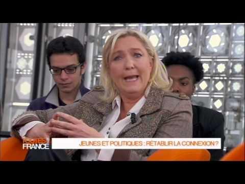 Part 2 Marine Le Pen invitée de Toutes Les France
