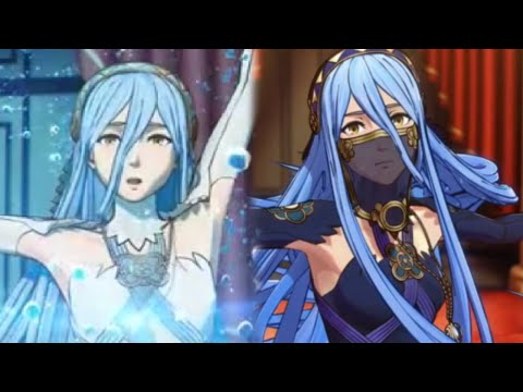 Fire Emblem Fates - Azura's Dance - Hoshido & Nohr Versions Cutscenes (English)