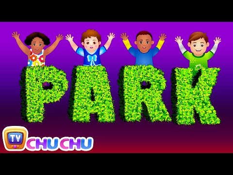 Let's Go To The Park! - Park Songs & Nursery Rhymes For Children | #readalong with ChuChu TV