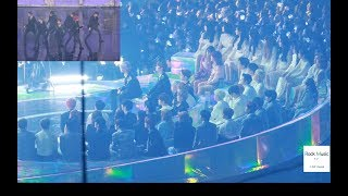 BTS fake love reaction (워너원, 마마무, 여자친구, 볼빨간사춘기,더보이즈, 여자아이들) [4K 직캠]@181201