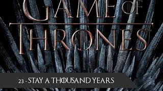 Baixar Game of Thrones Soundtrack - Ramin Djawadi - 23 Stay a Thousand Years