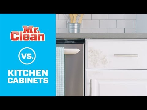 The Best Way to Clean Kitchen Cabinets | Mr. Clean®