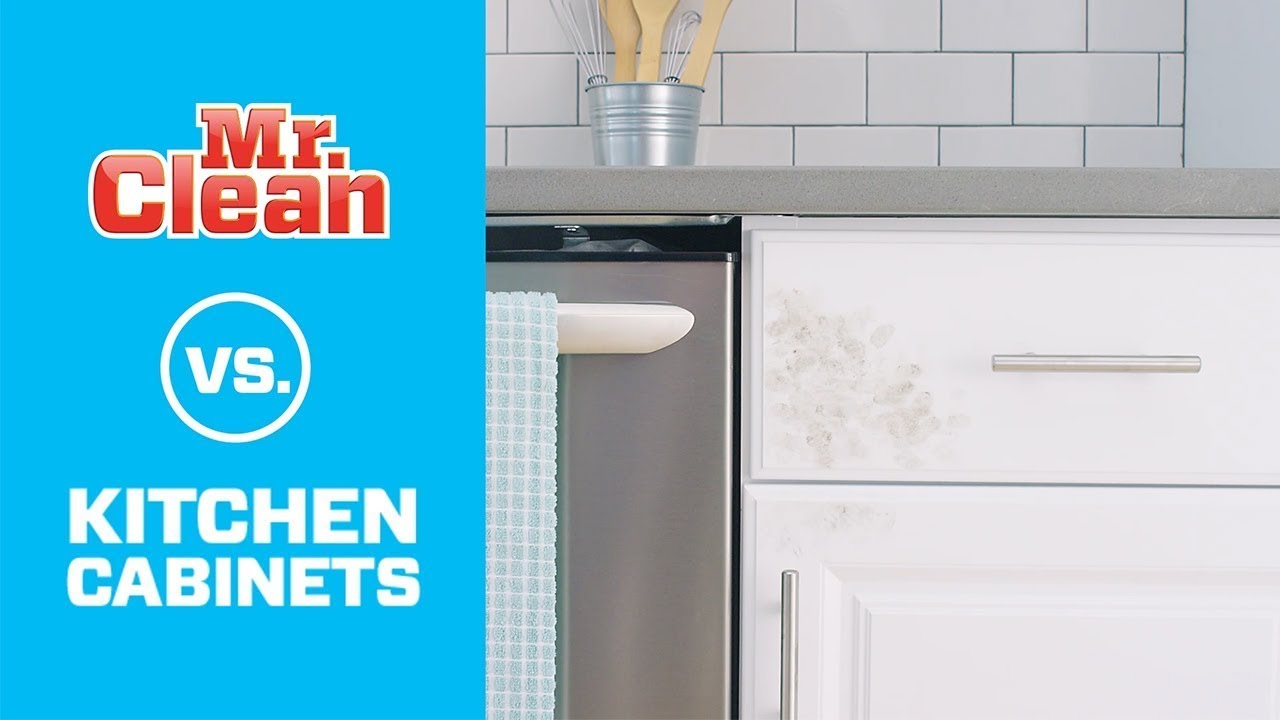 The Best Way to Clean Kitchen Cabinets | Mr. Clean® - YouTube