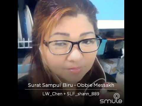 Surat Sampul Biru - Obbie Messahk  cover by Lim Wang Chen feat Shanty yap,  mantap jiwa, 🙂😃😊
