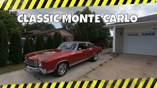 Today's Classic Car.  A 1970 Chevrolet Monte Carlo.