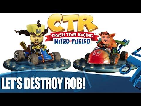 Crash Team Racing Nitro-Fueled - Let's Destroy Rob!
