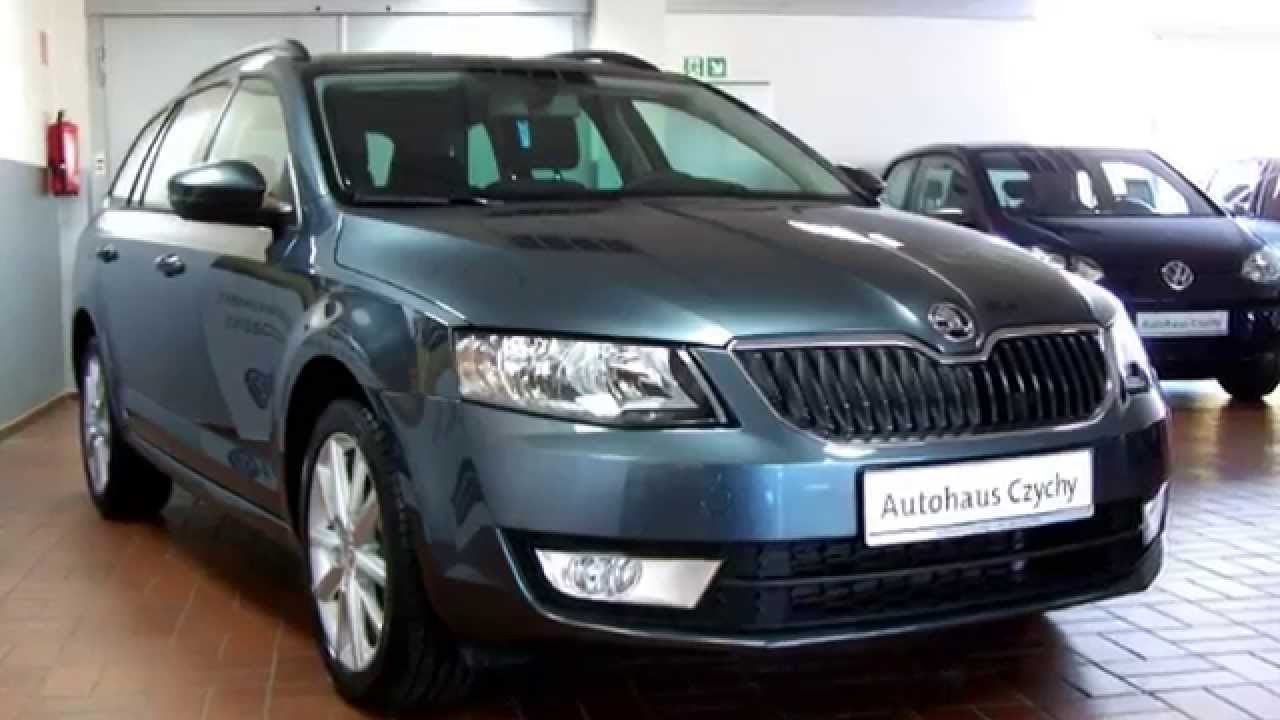 skoda octavia iii combi 1 6 tdi ambition bolero f0153749 metal grau autohaus czychy youtube. Black Bedroom Furniture Sets. Home Design Ideas