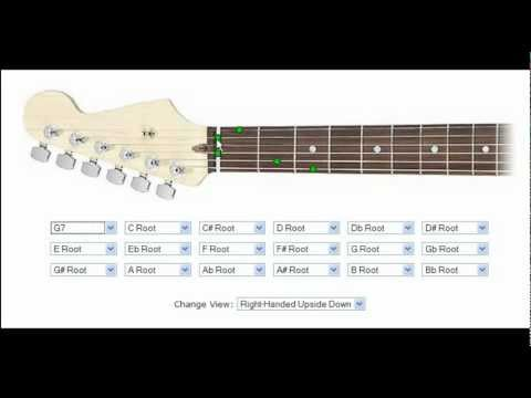 How to use the Guitar Chord Finder on Cyberfret.com