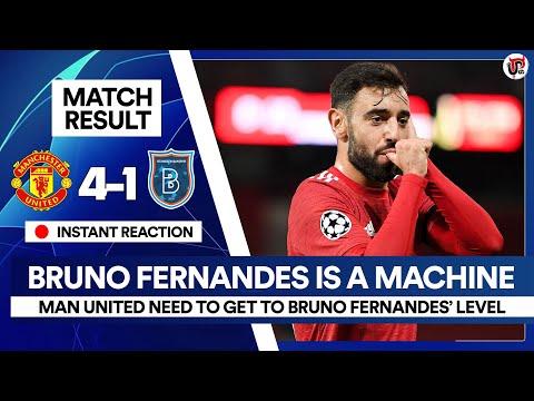 Bruno Fernandes LEVELS Above | Man Utd 4-1 Istanbul