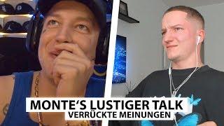 Justin reagiert auf Montes merkwürdigen Talk.. | Reaktion