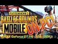 PUBG Mobile on PC GeForce GT 710 - Best Possible Settings