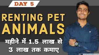 ED: Renting Pet Animals | Educative Daily