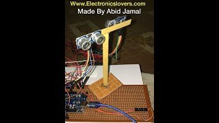 Mini-Radar Station by Using Arduino ide | Do it Yourself Project