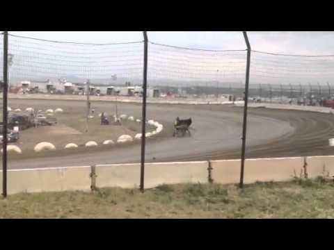 Brock Lemley ASCS Heat Race 2012 Electric City Speedway