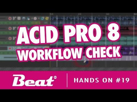 DAW MAGIX Acid Pro 8 - Workflow im Check   Hands On #19