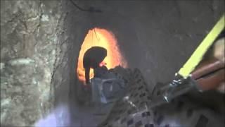 شاهد خدعة داعش للهروب من الغارات الجوية الروسية (فيديو)