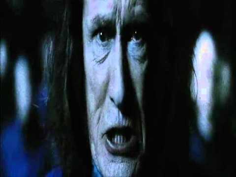 Rufus Scrimgeour (Bill Nighy) in Harry Potter 7 1/2