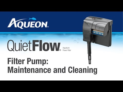 Aqueon | QuietFlow - Filter Pump: Maintenance and Cleaning