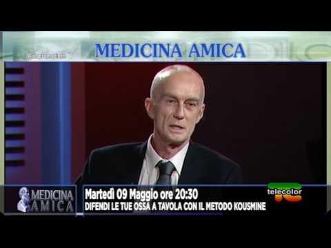 PROMO Medicina Amica: osteoporosi e metodo kousmine con Dr. De Gasperis 09.05.2017