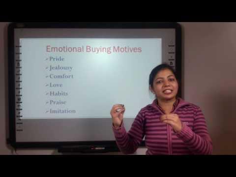 Buying Motives in Hindi under E-Learning Program