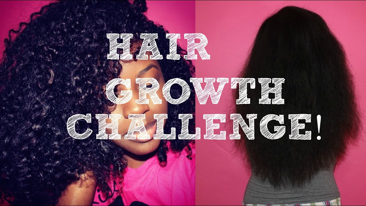 Hair Growth Challenge Youtube