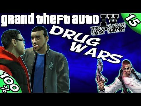 GTA IV TBoGT - ALL 50 Drug Wars [100% Walkthrough]