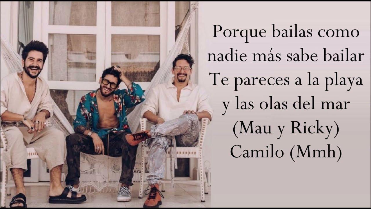 LA BOCA (Letra) MAU & RICKY ft CAMILO