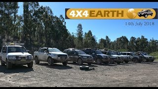 4wd Earth Wallaroo State Forest run 14th July 2018 - full edit