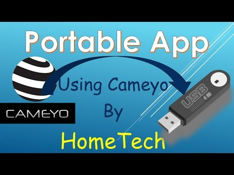 Making Portable Hotspot or Any App with Cameyo and Online