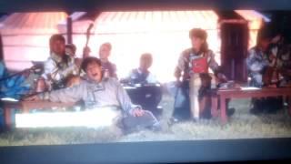 Jackie chan singing rolling in to deep