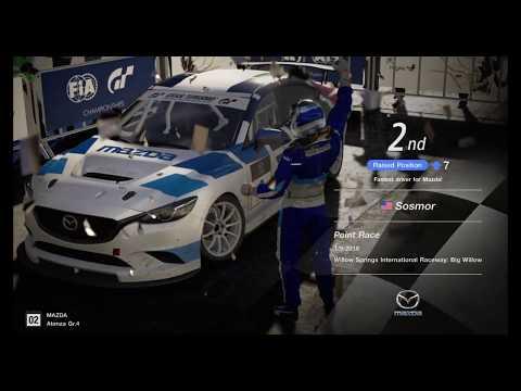 Gran Turismo Sport Gr. 4 Daily Race - Podium Finish At Big Willow