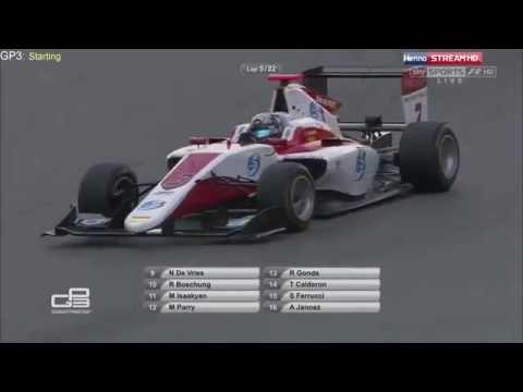 GP3 2016  Round 1  Spain  Race 1
