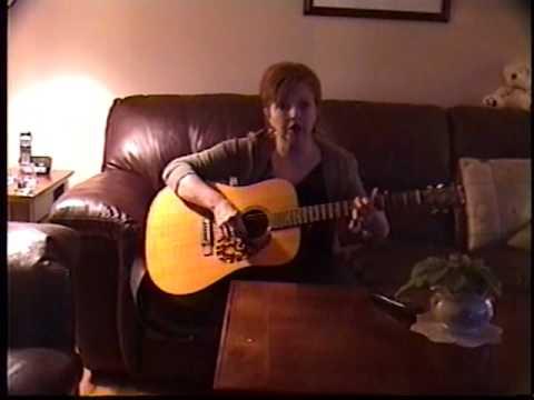 Glenda Nicol singing Beaneath The Painted Sky Tammy Wynette song