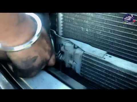 How to Change Radiator   FIX Overheating on Mercedes ML GL W164 X164 W251   MrCarMAN