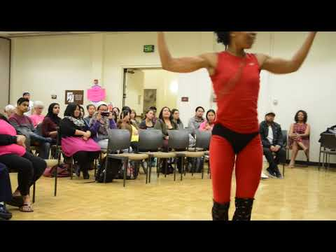 Khalilah Ramirez, Dance of Peace - IWD - Campus Center - De Anza College - Cupertino - CA - 20170308