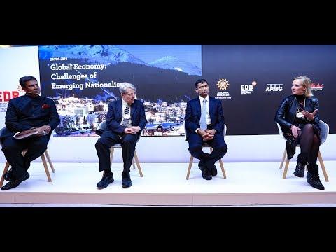 Global Economy: Challenges of Emerging Nationalism, Sunrise Andhra Pradesh Lounge