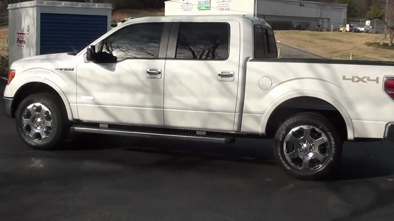for sale new 2012 ford f 150 lariat ecoboost v6 stk 20500 youtube. Black Bedroom Furniture Sets. Home Design Ideas