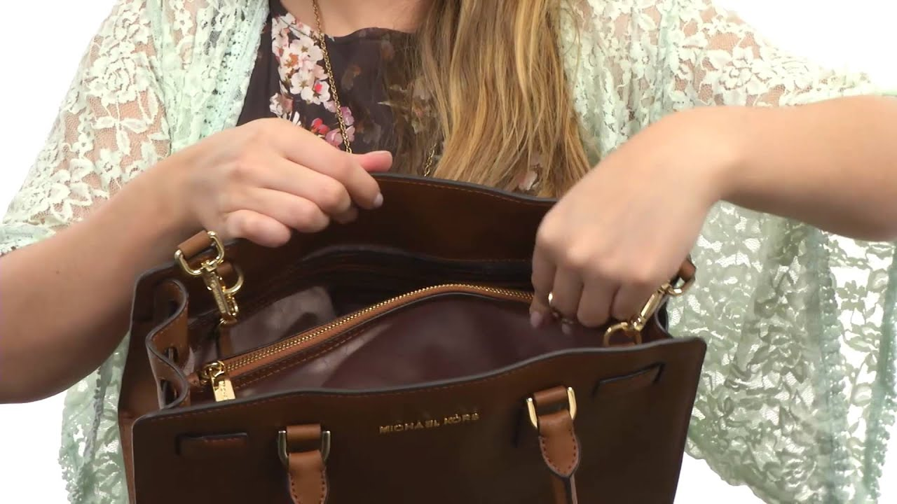 93730227fec2 MICHAEL Michael Kors Dillon East/West Satchel SKU:8469543 - YouTube