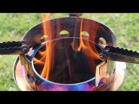 APG Camping WOOD STOVE Review & Field Cooking Test