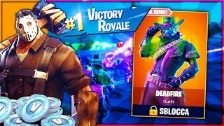 If I WIN this match INCUBO SHOPPO the new SKIN Mortaflame!! Fortnite ITA Halloween