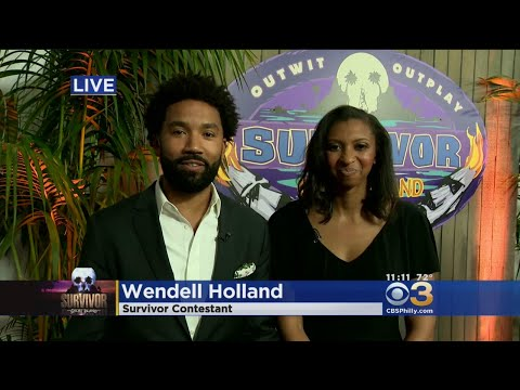 'I Was In Shock': Philly Native Wendell Holland Reacts To Winning Survivor: Ghost Island