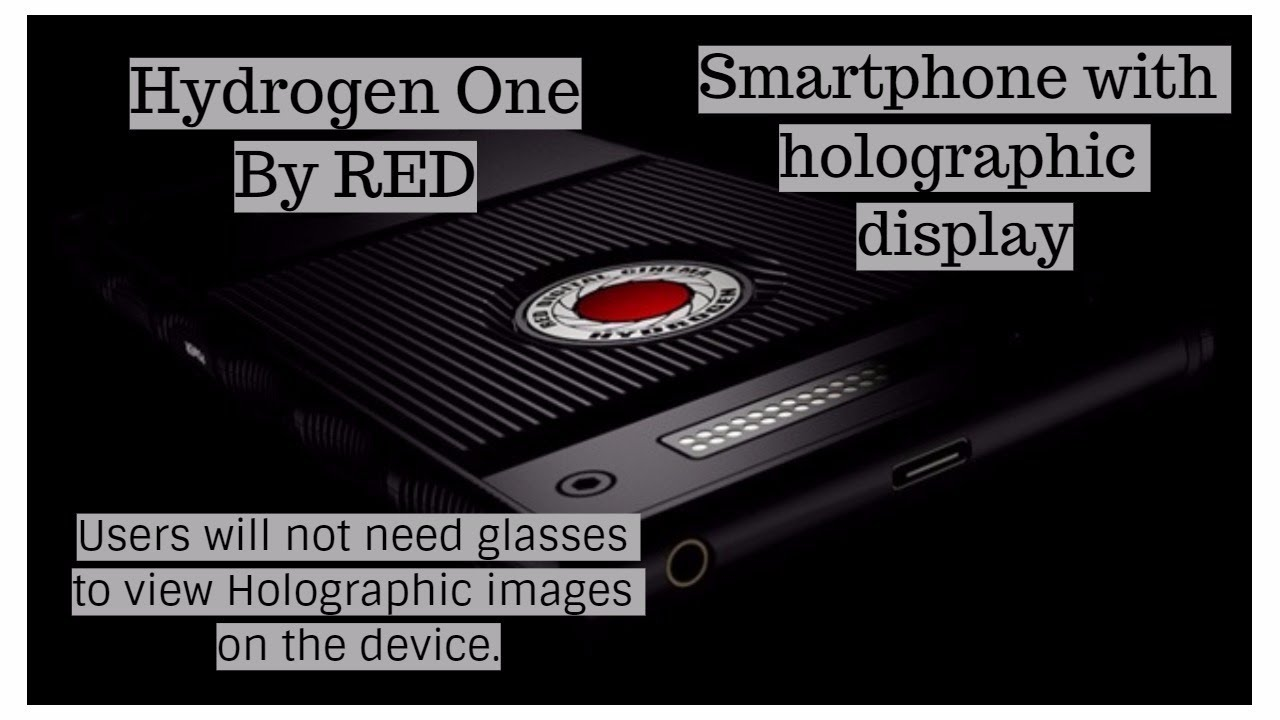 Image result for world first holographic smartphone
