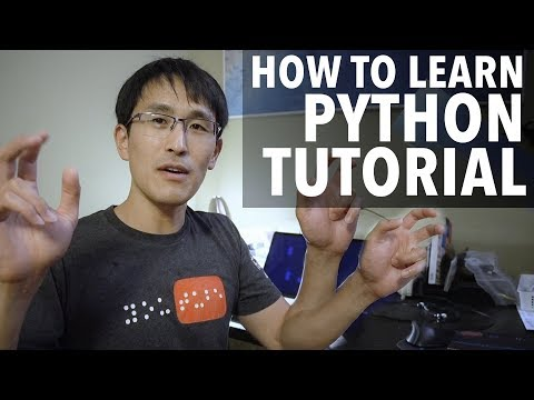 How to Learn Python Tutorial  Easy & simple! Learn How to Learn Python!
