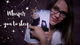 ASMR Ich flüstere dich in den Schlaf 😴 Reading to you | Asmr deutsch/german