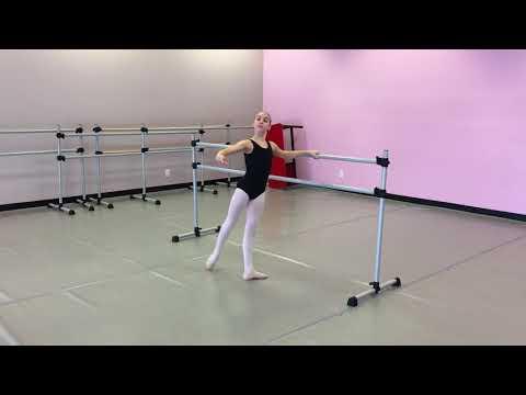 Britton Johnson- Bolshoi Ballet Academy Summer Intensive Audition 2018