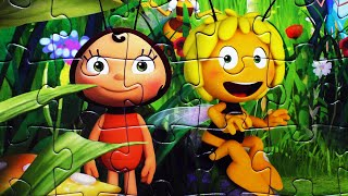 MAYA THE BEE Kids Puzzle Games Rompecabezas Educa Learn Play Jigsaw Puzzles Toys Learning Activities