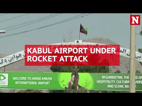 Rockets explode at Kabul airport hours after James Mattis arrives in Afghanistan