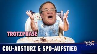 Wahl 2021: CDU und CSU holen das schlechteste Ergebnis seit dem Urknall!