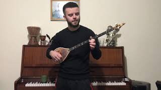 Tayna X Ledri - Aje (Çifteli cover) by: Jurgen Pecnikaj