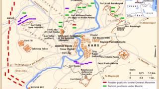 The Russo-Turkish War -  Battle of Kars